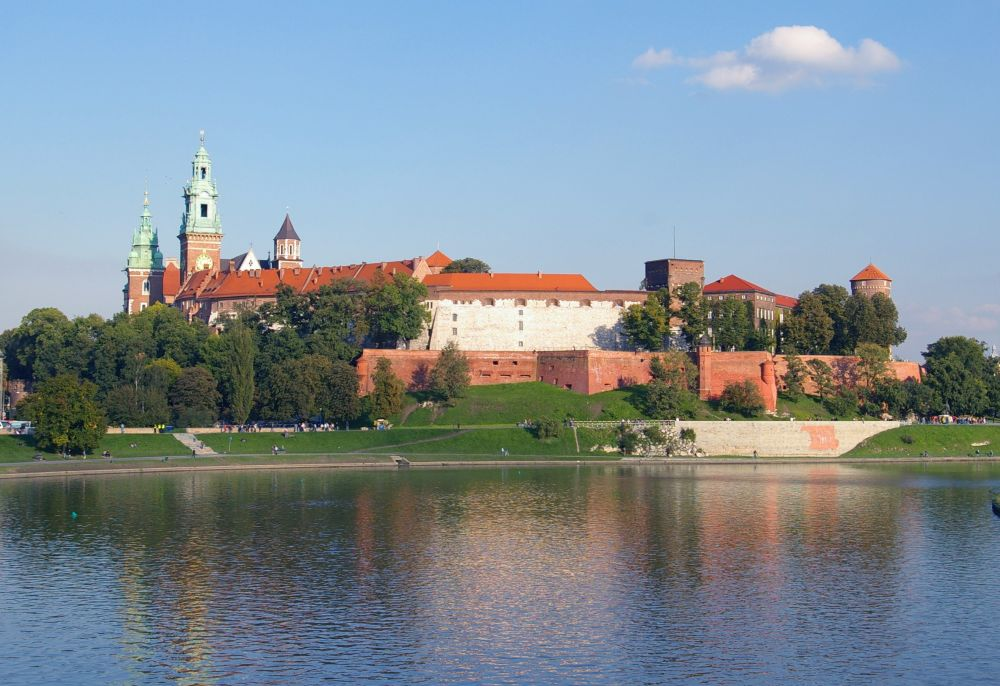 Krakow, Wawel castle, from Wikipedia
