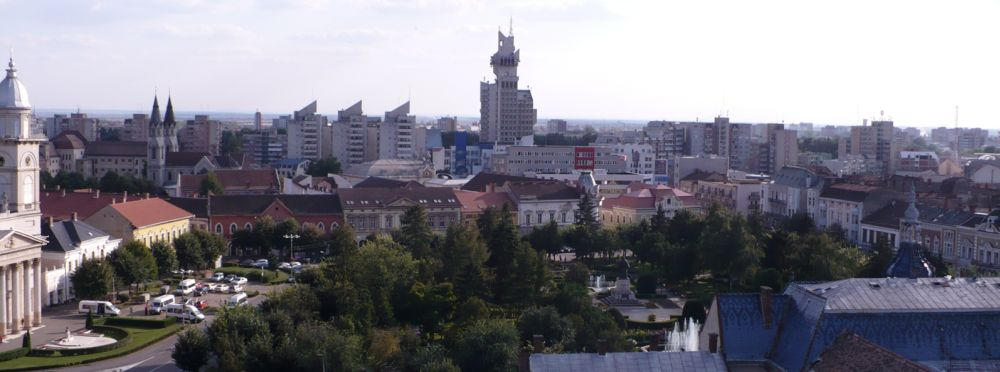 City view of Satu Mare, Romania