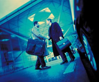 Bus transfer for business travellers