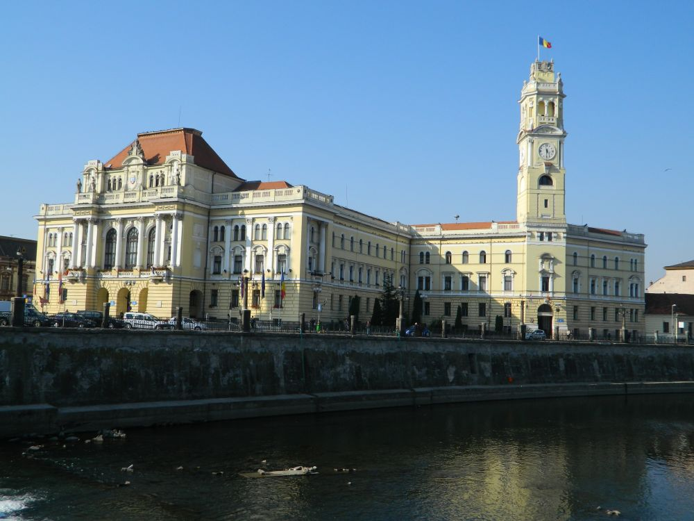 Town Hall in Oradea, Romania
